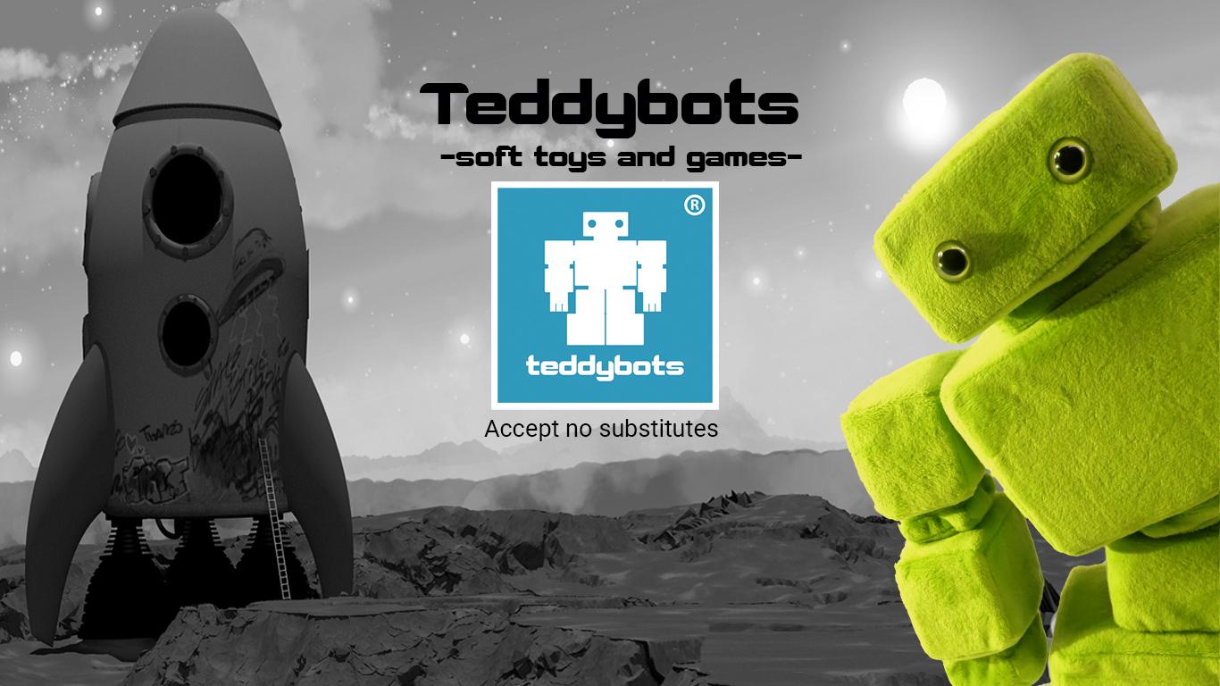 Teddybot plush toys